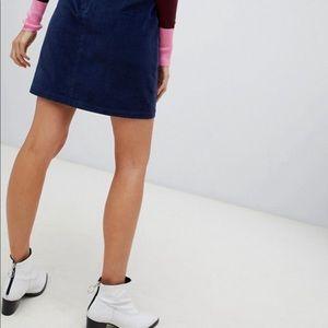 Lilly Pulitzer -Corduroy Navy Skirt -